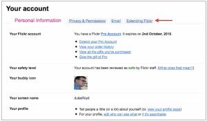 Extending Flickr