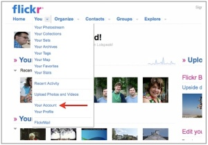 """""""Your Account"""" on Flickr"""