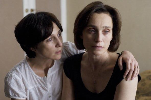 Elsa Zylberstein and Kristin Scott Thomas in I've Love You For So Long
